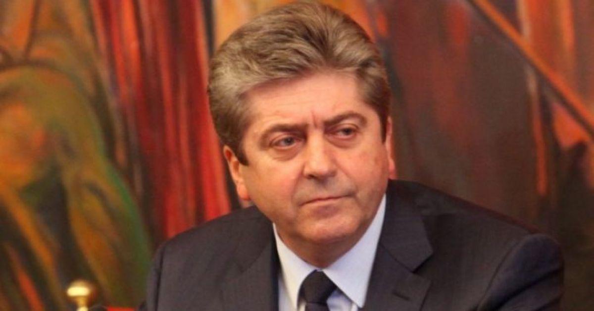 Георги Първанов изпрати поздравления до президента на Палестина Махмуд Абас